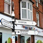 signpost in whitchurch, hampshire